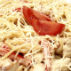 Спагетти с перцем и курицей