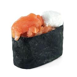 Сырные суши с лососем