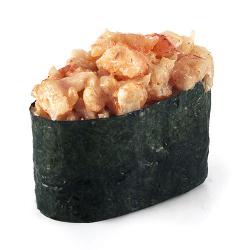 Суши-спайс креветка